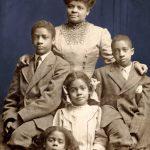 photo of Ida Wells and her children
